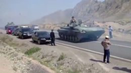 Clashes on the Kyrgyz-Tajik border